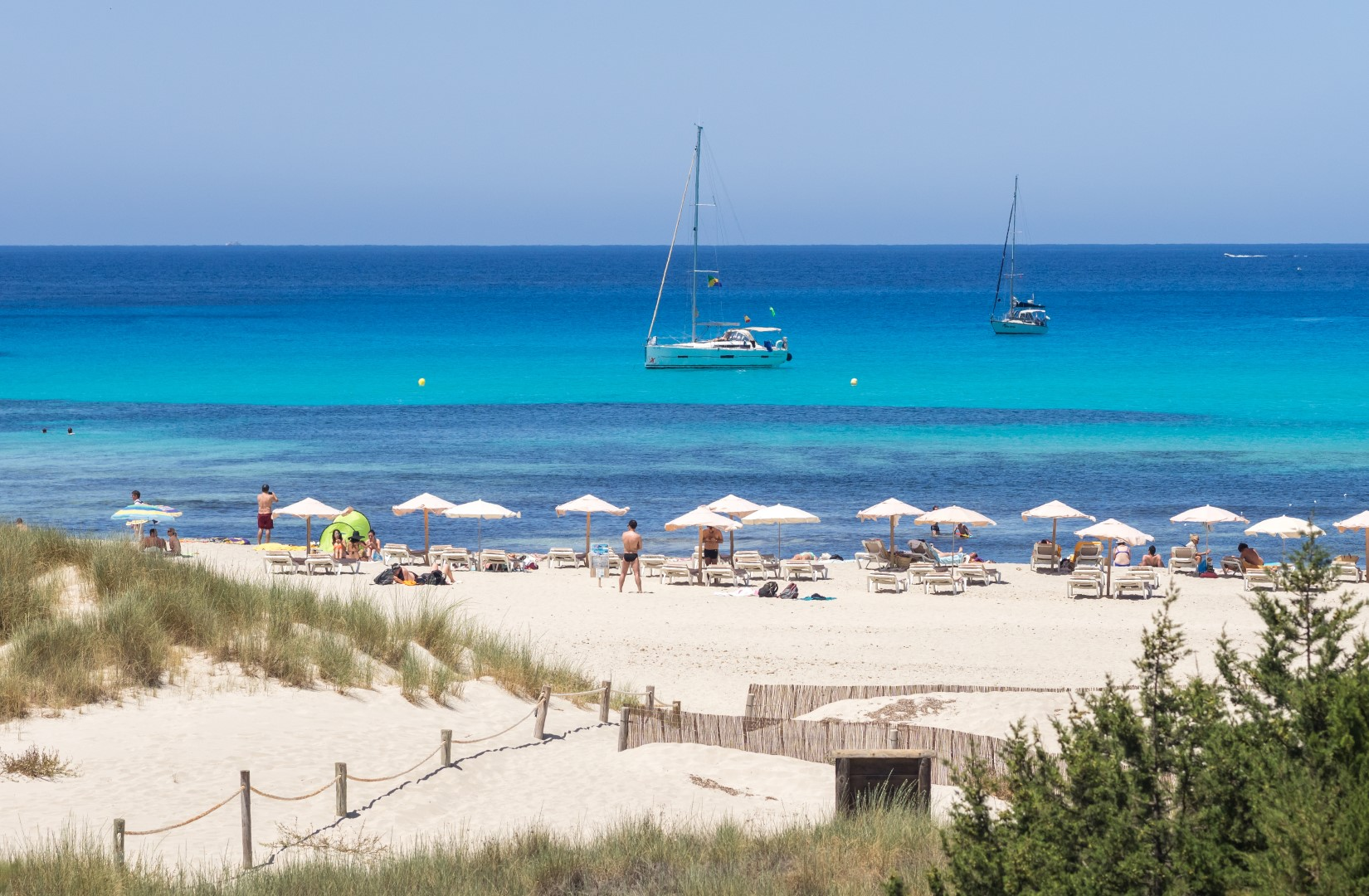 Cala Saona - yachting destination Ibiza