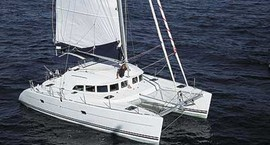Ibiza charter sailing route